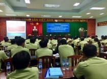 Khải giảng lớp tập huấn phổ biến kiến thức về kiểm tra, xử phạt vi phạm hành chính về an toàn thực phẩm tại Chi cục Quản lý thị trường tỉnh Kiên Giang